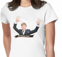 Benedict the Photobomb King Womens Fitted T-Shirt