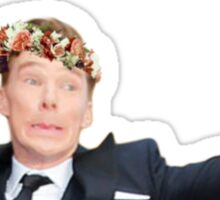 Benedict the Photobomb King Sticker