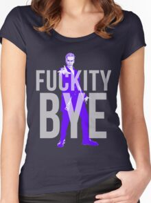 Fuckity Bye Women's Fitted Scoop T-Shirt