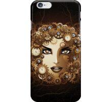Steampunk Girl Portrait  iPhone Case/Skin