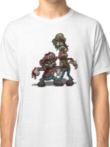 Zombie Mario & Luigi Classic T-Shirt
