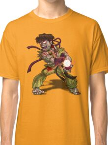 Zombie Ryu (Street Fighter) Classic T-Shirt