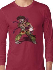 Zombie Ryu (Street Fighter) Long Sleeve T-Shirt