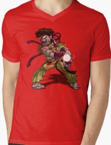 Zombie Ryu (Street Fighter) Mens V-Neck T-Shirt