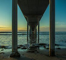 OB Pier Sunset by liminalstate