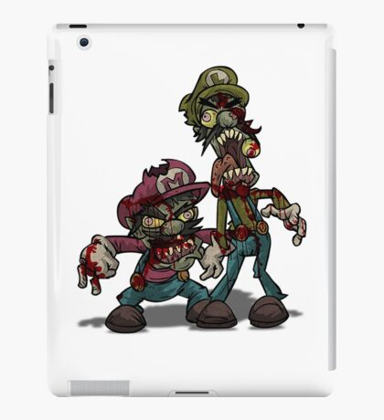 Zombie Mario & Luigi iPad Case/Skin
