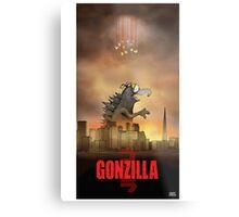 Gonzilla Metal Print