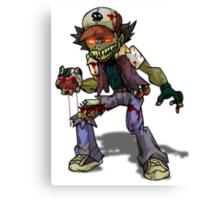 Zombie Ash (Pokemon) Canvas Print