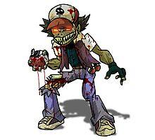Zombie Ash (Pokemon) Photographic Print