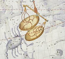Constellation of Libra by Bridgeman Art Library