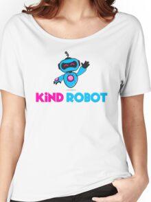 Kind Robot Logo Women's Relaxed Fit T-Shirt