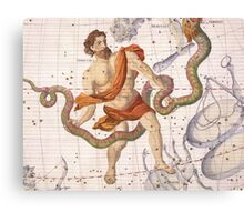 Constellation of Ophiucus and Serpens Canvas Print