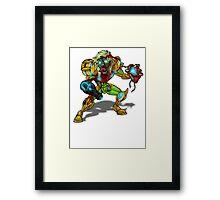 Zombie Samus (Metroid) Framed Print