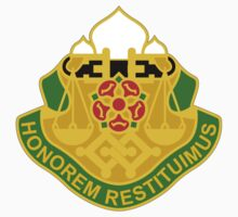 160th Military Police Battalion - Honorem Restituimus - We Restore Honor by VeteranGraphics