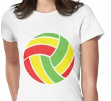 Volleyball Vibe Womens Fitted T-Shirt