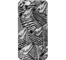 Zebra's Inside and Out iPhone Case/Skin