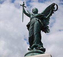 Stone angel by textilestalk