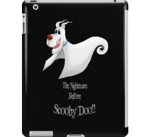 The Nightmare Before Scooby iPad Case/Skin