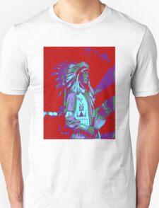 Indian Chief Pop Art Unisex T-Shirt