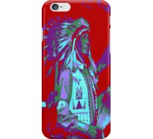 Indian Chief Pop Art iPhone Case/Skin