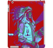 Indian Chief Pop Art iPad Case/Skin