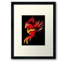 Cute Phoenix Framed Print