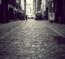 Cobbled streets of Belfast by ThomasBlake