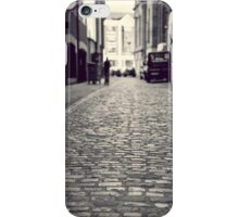 Cobbled streets of Belfast iPhone Case/Skin