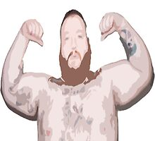 Action Bronson Topless by Blfc