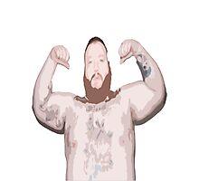 Action Bronson Topless Photographic Print
