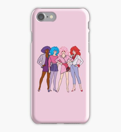 Jem and The Holograms - Group #1 Pink - Tablet & Phone Cases iPhone Case/Skin