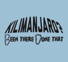 Kilimanjaro Mountain Climber by Location Tees