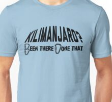 Kilimanjaro Mountain Climber Unisex T-Shirt