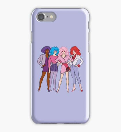 Jem and The Holograms - Group #1 Purple - Tablet & Phone Cases iPhone Case/Skin