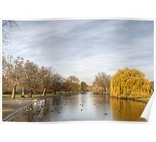 Regents Park in Central London Poster