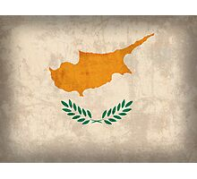 Cyprus Flag Photographic Print