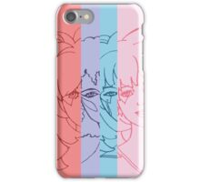 Jem and The Holograms - Group Striped - Color iPhone Case/Skin