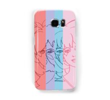 Jem and The Holograms - Group Striped - Color Samsung Galaxy Case/Skin