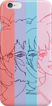 Jem and The Holograms - Group Striped - Color by DGArt