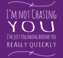 I'm Not Chasing You by Anita Potter
