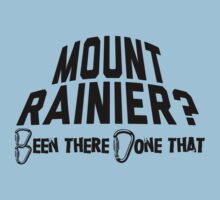 Mount Rainier Mountain Climber by Location Tees