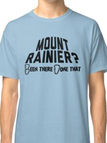 Mount Rainier Mountain Climber Classic T-Shirt