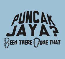 Puncak Jaya Mountain Climber by Location Tees