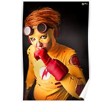 Cosplay_KID FLASH Poster