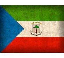 Equatorial Guinea Flag Photographic Print