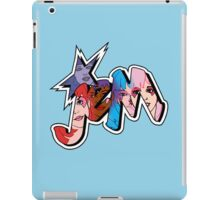 Jem and The Holograms - Logo #1 - Blue - Tablet & Phone Cases iPad Case/Skin