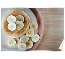 banana pancakes.. Poster