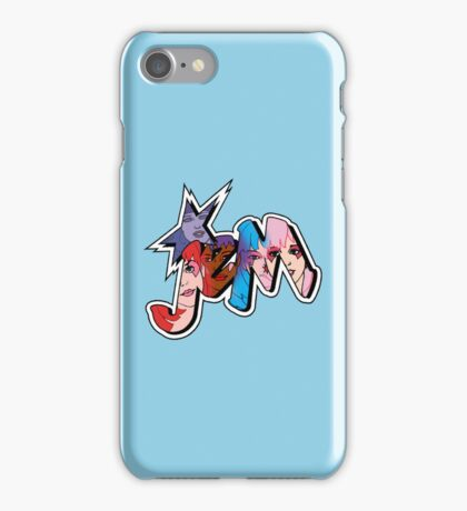 Jem and The Holograms - Logo #1 - Blue - Tablet & Phone Cases iPhone Case/Skin