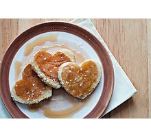 love pancakes.. Photographic Print