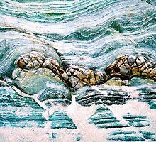Blue Rocks at Nelson Bay by Imi Koetz